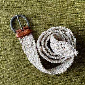 Macrame Belt